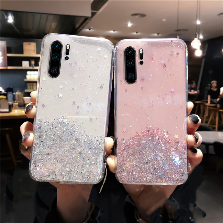 H0e529e83c61745e388f576bbed0ab80cc - YBD Soft Shiny Bling Case for Xiaomi Redmi Note 8 pro 7 pro K20 Pro 9s Coque for Xiaomi mi 9 9t cc9 6 6x 8 lite 8 se Case 8T