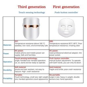 Image 5 - Belleza Facial LED Mask Beauty Skin Rejuvenation Photon Masque LED Facial Mask Therapy Anti Wrinkle Acne Tighten Skin Care Tool