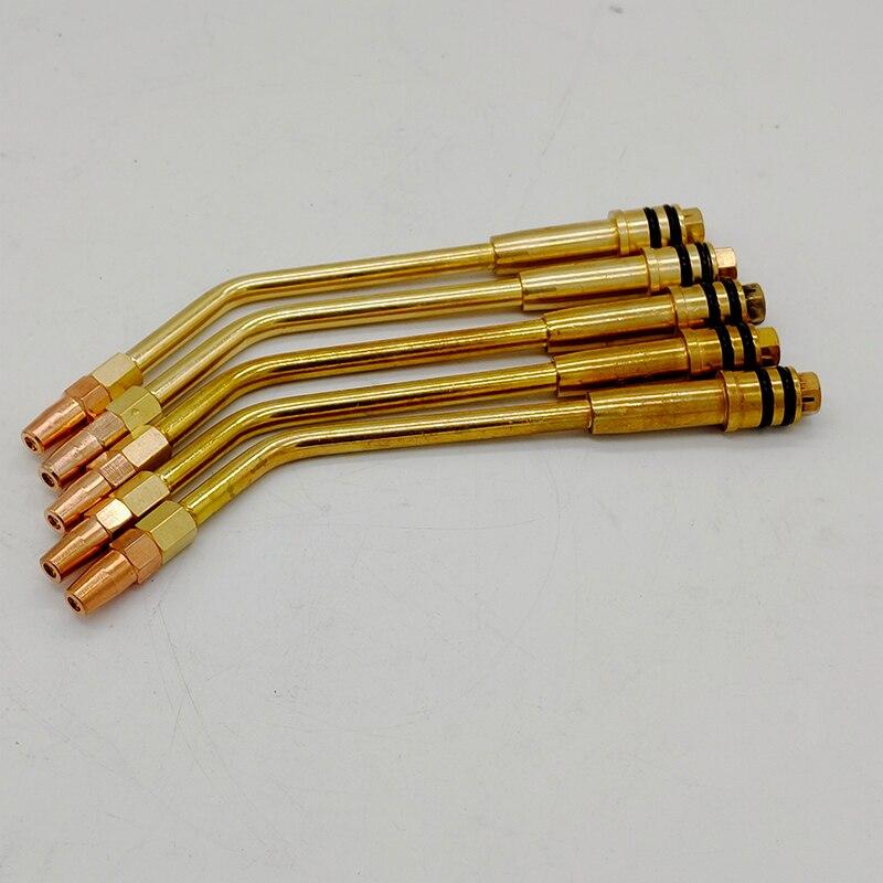 Tools : 5pcs oxygen-acetylene welding tip or oxygen-propane welding nozzle accessories for welding torch