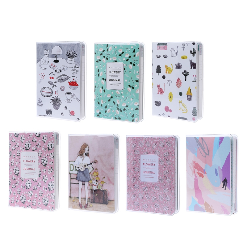 Cute Daily Monthly Weekly Planner Notebook Agenda Calendar School Supplies Gift L41E