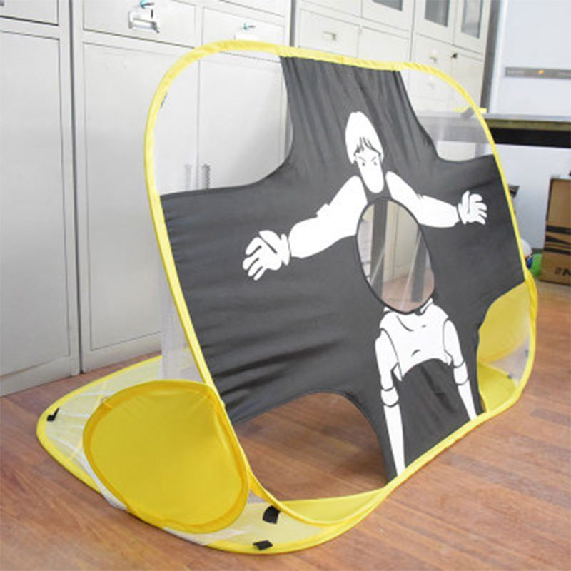 Football Foldable Training Goal Net Soccer Kids  Mode Target Shooting Sports Accessories 210D Waterproof Oxford Cloth Hotselling