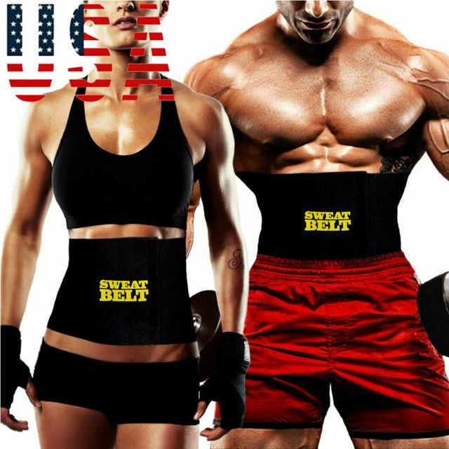 Belt Men Sweat Shaper Body Neoprene Sport Corset Waist Sauna Women Belly Trainer