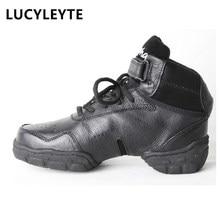 Mulheres sapatos de dança outono e inverno real leatherprofessional tênis de dança mulher zapatillas mujer sapatos para meninas meninos