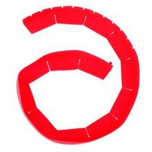 Регулируемый силиконовый пирог корка щит силиконовый kichen аксессуары кухонный инструмент 1 шт