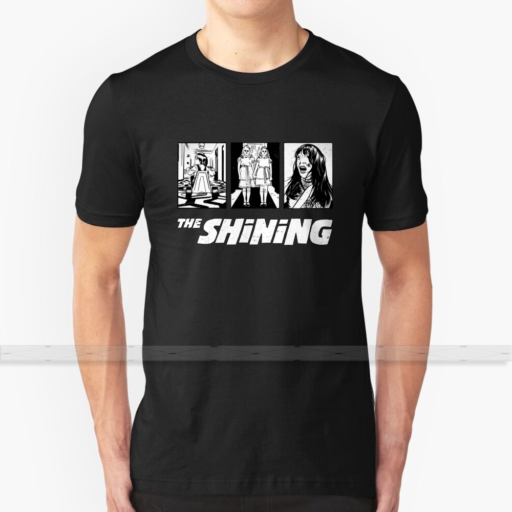 The Shining - <font><b>Kubrick</b></font> T - Shirt Men'S Women'S Summer 100% Cotton Tees Newest Top Popular T Shirts The Shining <font><b>Kubrick</b></font> Scary image