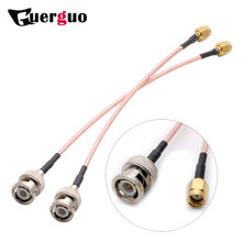 Customized Length BNC Male Switch RP-SMA Male Plug (female pin) pigtail cable RG316 15CM 6