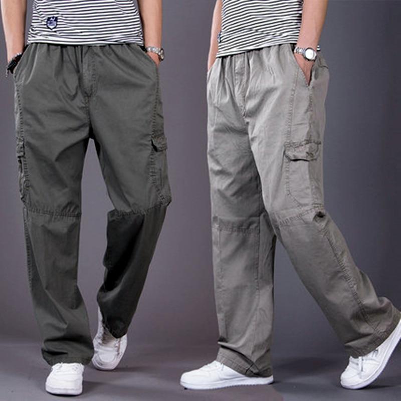 Men Harem Tactica Pants 2018 Summer Sagging Cotton Security Bodyguard Trousers Plus Size Sporting Pant Mens Joggers Feet Pants