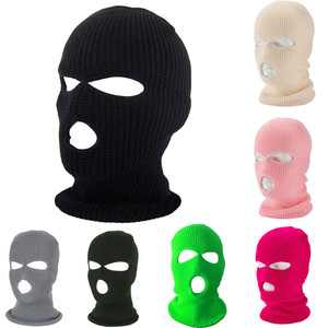 Balaclava Mask Hat Winter Cover Neon Mask Green Halloween Caps For Party Motorcycle Bicycle Ski Cycling Balaclava Pink Masks