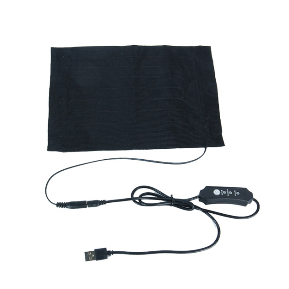 DIY Electric Travel Waist Protective Practical Portable Camping Winter 3 Gear Heating Pad Thermal USB Charging Outdoors Blanket
