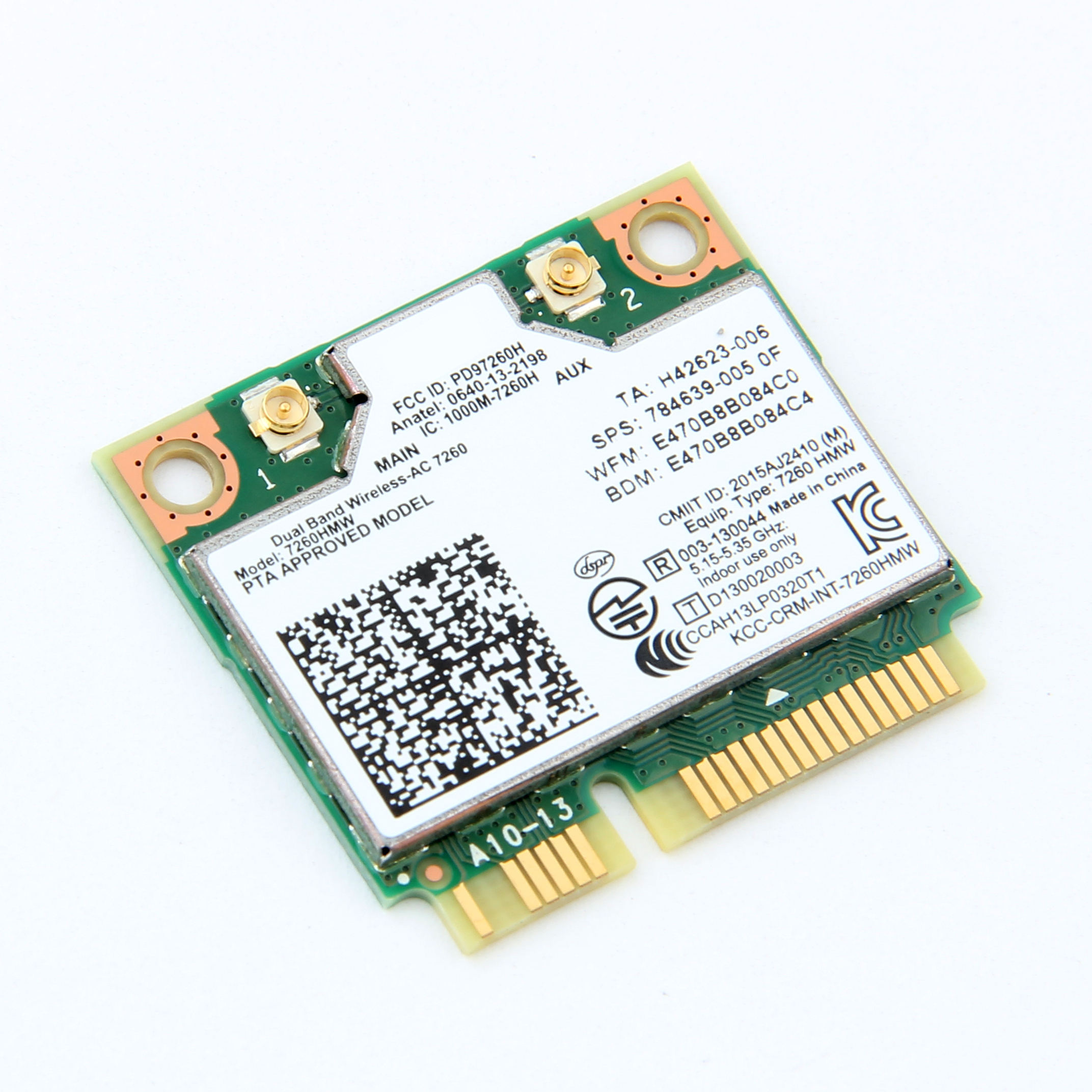 Universal Internal Antenna for Wireless Mini PCI PCI-E Laptop 7260hmw 2230 6300