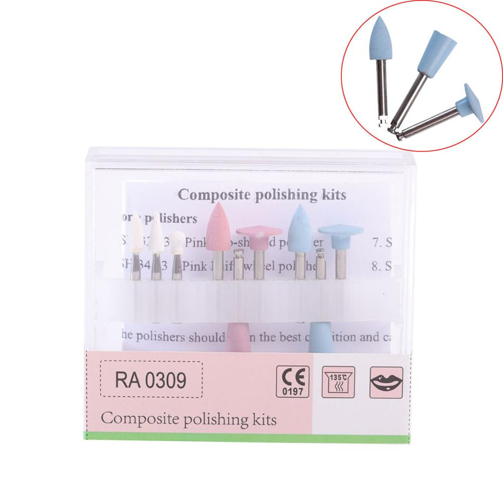 2Sizes Dental Polishing Kits Composite RA0309 Amalgam RA0109 Cups For Low-speed Handpiece