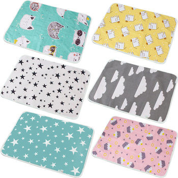 Baby Diaper Changing Mat Infants Portable Foldable Washable Waterproof Mattress Travel Pad Floor Mats Cushion Reusable Baby Care baby portable foldable washable compact travel diaper changing mat waterproof mattress baby floor mat play mat baby care