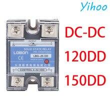 цена на SSR-120DD 150DD SSR Single Phase JGX DC Control DC Heat Sink 70-280VAC To 24-480VAC 10A 25A 40A AA Solid State Relay