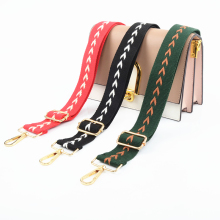 Shoulder Bag Strap Belt Women Adjustable DIY Crossbody Hanger Handbag Strap Ornament Accessories Belt Bag Rainbow Decorative New