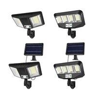 Solar Power Drehbare Straße Lampe Im Freien Wasserdichte Pathway Sensor Wand Lichter Hof Villa Beleuchtung Straße Lampe