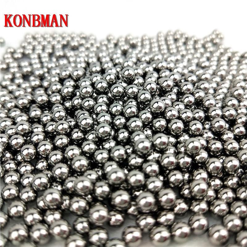 100pcs 4/5/6/7/8mm Diameter Steel Ball For Slingshot Professional Slingshot Bearing Bow Ammo Sling Shot Balls Accessories