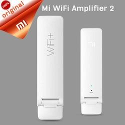 Оригинальный Xiao mi беспроводной mi wifi усилитель 2 300 Мбит/с Универсальный Xiaomi mi Wi-Fi ретранслятор Xiao mi USB портативный wifi беспроводной маршрутиза...