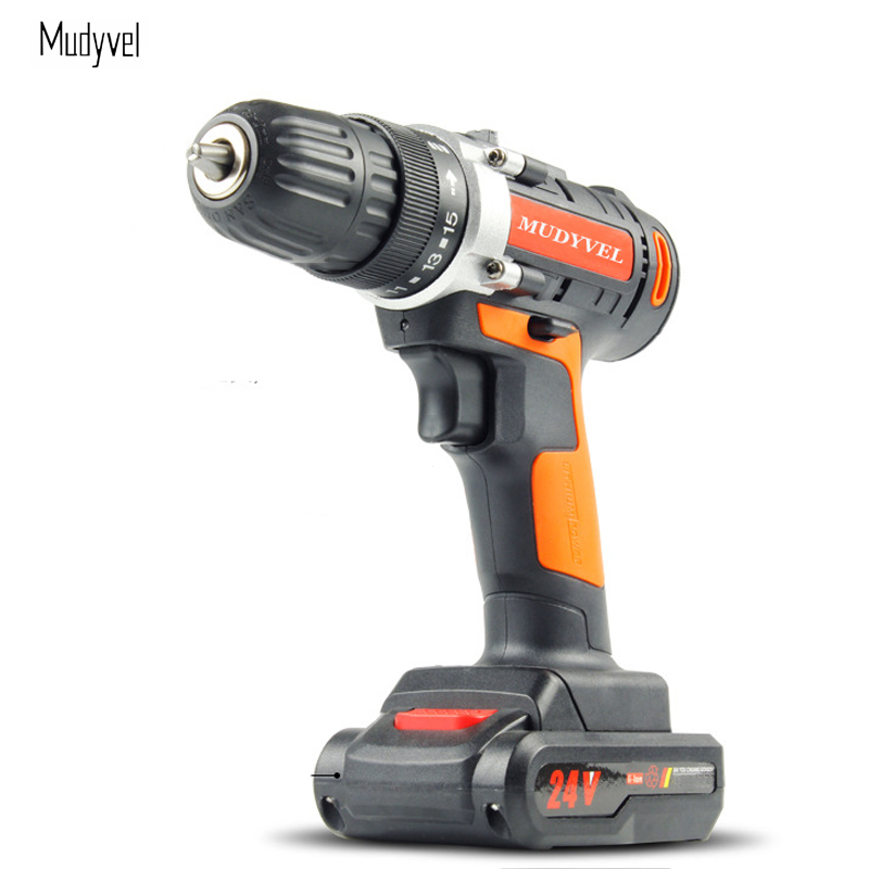 Cordless drill 12V 16.8V 24V Rechargeable Lithium battery Flexible shaft Screwdriver Power tools Dremel 2 speed Mini Drill