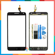 "Kualitas Tinggi 5.5 ""Keyboard 3 OT5025 5025D Touch Screen Digitizer Depan Kaca Lensa Sensor Panel(China)"