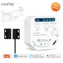 Tuya akıllı yaşam yeni kablosuz garaj kapısı denetleyicisi açacağı uzaktan WiFi anahtarı ses kontrolü Alexa Echo Google ev hayır Hub gerekli