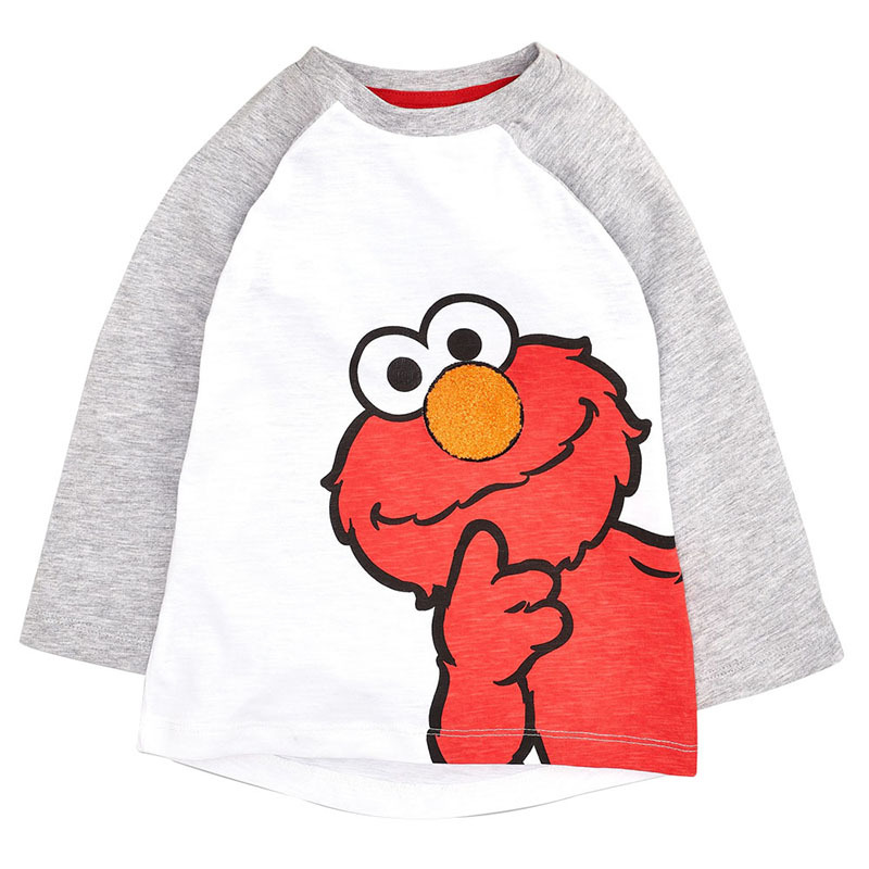 Spring And Autumn BOY'S Long-sleeved T-shirt 2019 New Style Tops Children Crew Neck Multi-color CHILDREN'S Cartoon Birds Angry T