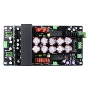 Image 3 - IRS2092 800W + 800W amplificateur Audio carte IRFB4227 puissance Tube classe D double canal HIFI Amp TO220 haut parleur Protection redresseur