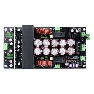 Image 3 - Irs2092 amplificador de áudio 800w + 800w, placa para amplificador de áudio, classe d, canal duplo, hifi amp to220 rectificador de proteção