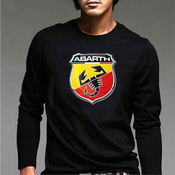 2018 新ファッション ABARTH 男性長袖綿 tシャツ三菱 Tシャツ akrapovic tシャツ男性スズキシャツ