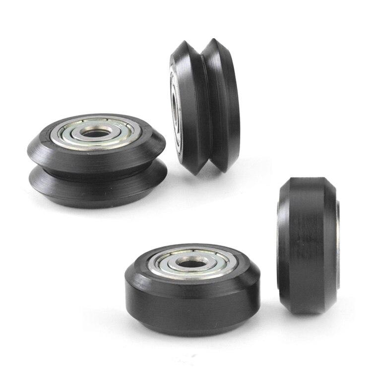 Delrin V Wheel Kit
