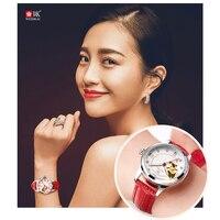 WEISIKAI automatic mechanical Watch Women Watches Top Brand Luxury Clock Fashion Ladies Wristwatch reloj mujer relogio feminino