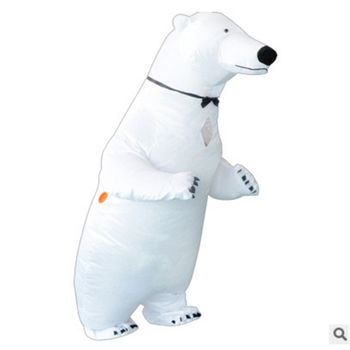 Inflatable Polar Bear Costume Mascot Costume Animal Fantasia Adult Halloween Carnival Birthday Party Cosplay Costume carnival halloween costume for women girl pink fairy princess costume dress fantasia adult cosplay clothing
