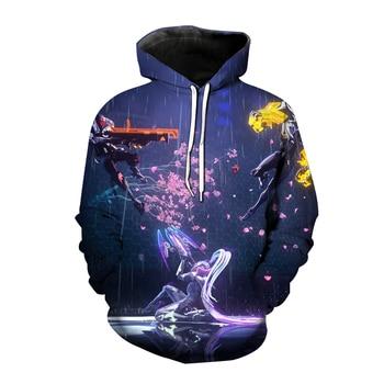 Popular Game League of Legends 3D Print Hoodies LOL Cosplay Sweatshirt Men Women Fashion Hoodie Harajuku Hip Hop Pullover Unisex 1