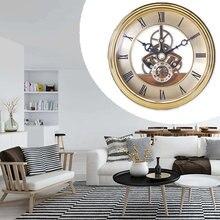 Креативные ретро настенные часы бесшумные кварцевые круглые