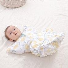 Blanket Swaddle Sleeping-Bag Newborn Baby