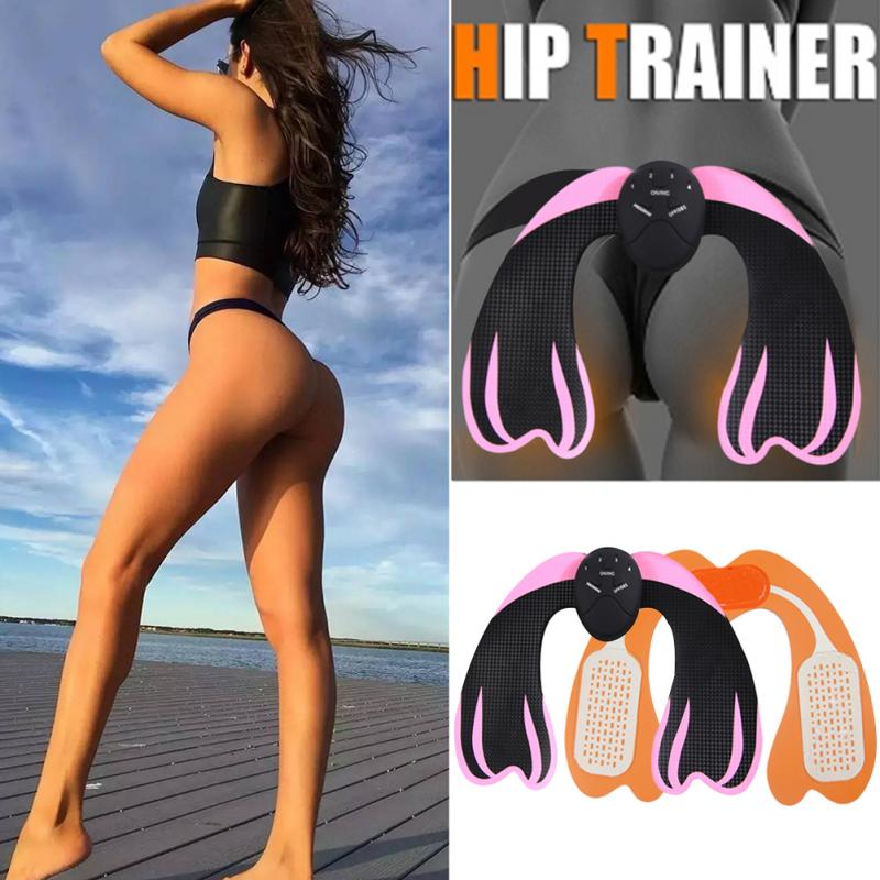 EMS Hip Trainer Buttocks Stimulator Muscle Trainer Fitness Gym Equipment Smart Hips Toner Muscle Trainer Body Sculpting Massager