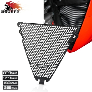For Ducati Panigale 899 959 1199 1199 1299 S/R Lower 2012-2019 Panigale V2 Lower Aluminum Motorcycle Radiator Grille Guard Cover