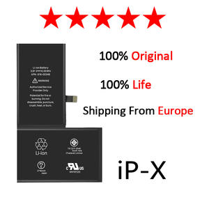 Zosol 10pcs/lot AAAAA quality for iphone X battery replacement 2716mAh