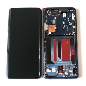 "Image 1 - 6.67 ""מקורי Supor Amoled M & SenFor OnePlus 7 Pro LCD תצוגת מסך + מגע פנל Digitizer מסגרת עבור oneplus 7T Pro LCD"