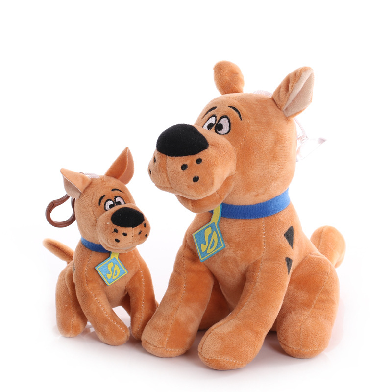 15/22cm Soft Cute Scooby-Doo Great Dane Scooby Doo Dog Cute Dolls Stuffed Animal Plush Toy for Children image