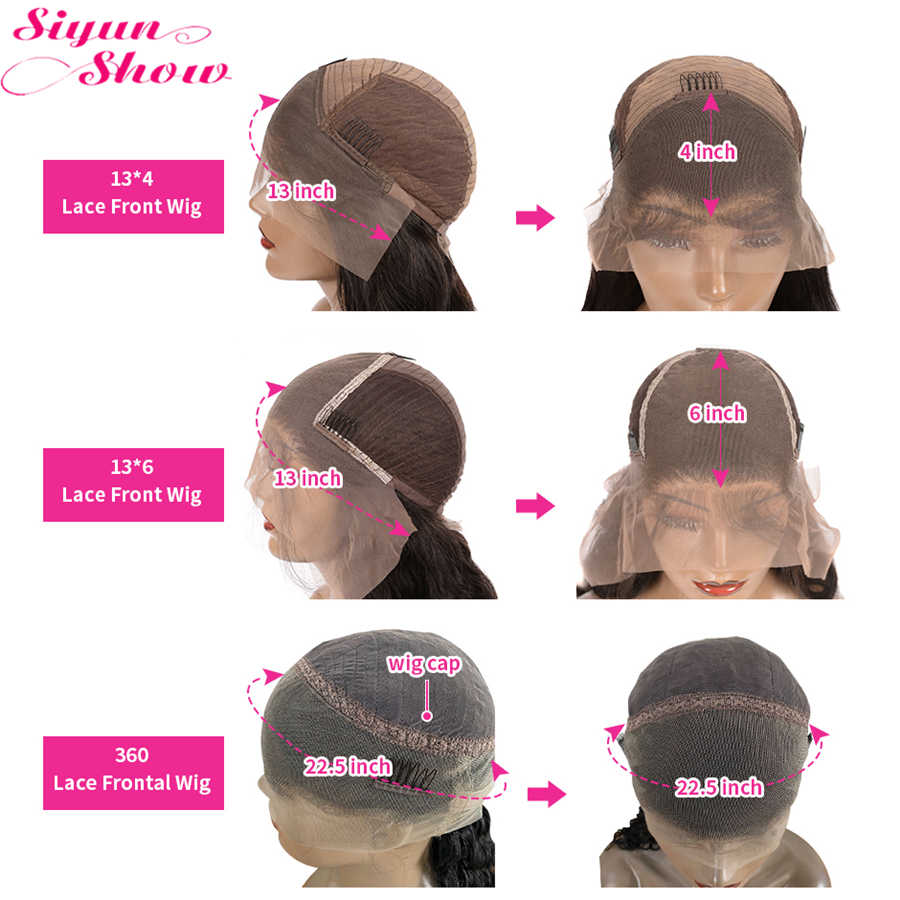 30 cali brazylijski luźna peruka z mocnymi lokami kręcone 360 koronkowa peruka z przodu Preplucked Remy 13x6 koronkowa peruka z ludzkich włosów dla czarnych kobiet