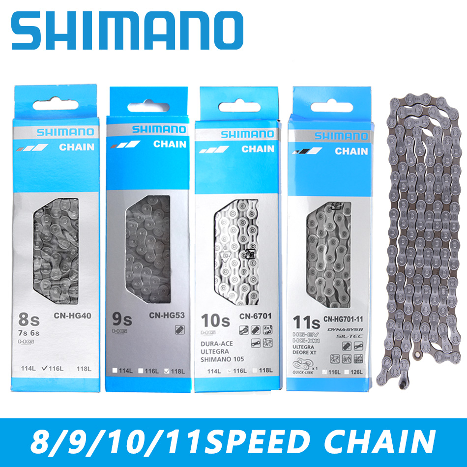 Ultegra 116-Links Shimano CN-HG93 9-Speed Road MTB Bicycle Chain Deore XT