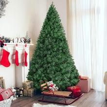 Рождественские елки 60 см 90 см 1,2 м 1,5 м 1,8 м 2,1 м маленькие большие искусственные елки рождественские украшения для дома в деревню год