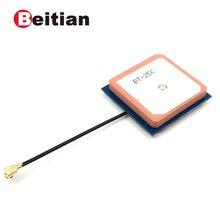 Beitian 、 50 個、 28 ミリメートル * 28 ミリメートル * 7 ミリメートル内部 glonass gps アンテナ、アクティブパッチアンテナ、 gnss アンテナ、 BT 25C