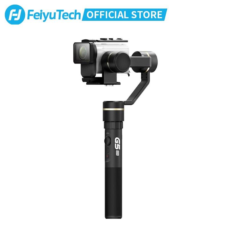 FeiyuTech Feiyu G5GS Splash הוכחה כף יד Gimbal 3-ציר מייצב עיצוב עבור Sony AS50 AS50R Sony X3000 X3000R פעולה מצלמה