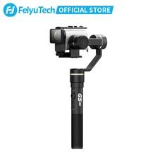 Feiyutech feiyu g5gs cardan handheld à prova de respingo design estabilizador de 3 eixos para sony as50 as50r sony x3000 x3000r câmera de ação