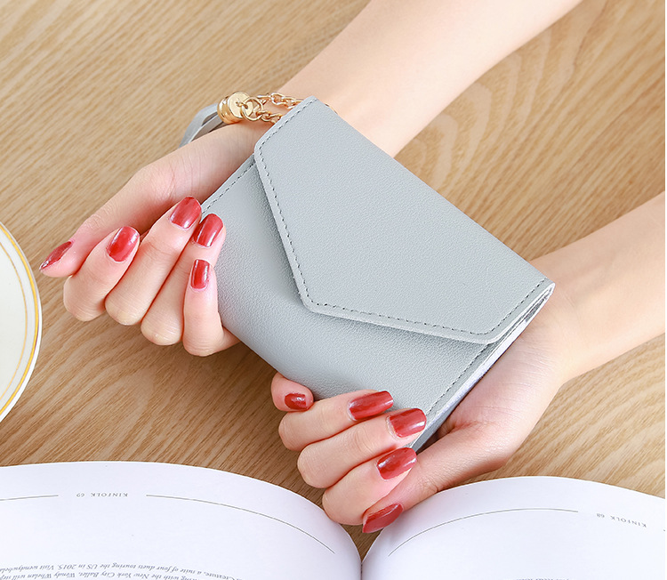 H0e5a493c99be4b569266e0832c627f505 - Wallet for Women Hasp Envelope Portwel Damski