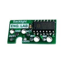 Rétroéclairage Bivert Module rétro éclairé puce numérique mise en évidence écran pièce de modification carte pour naim GB GBP accessoires