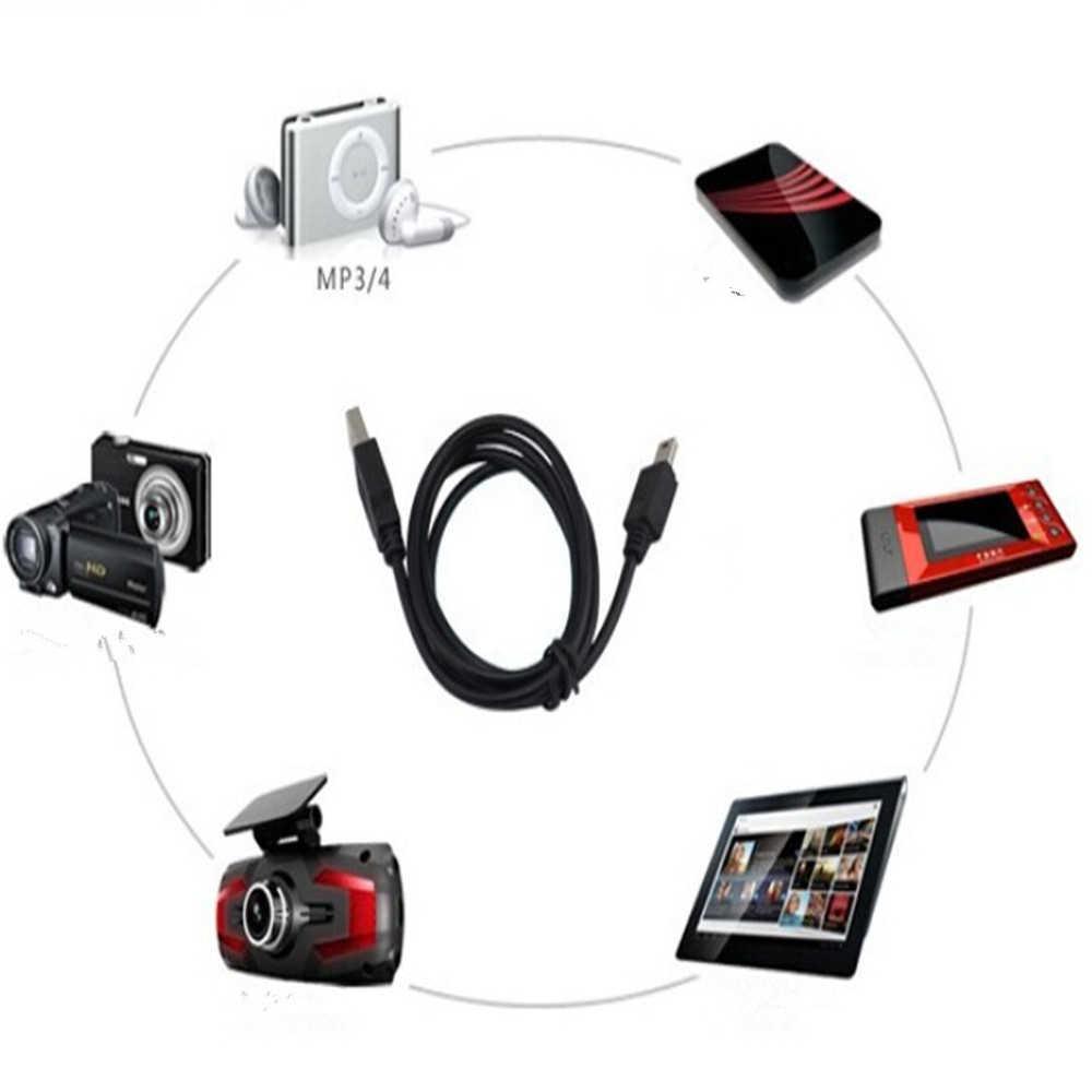 50/80/100 سنتيمتر شقة صغيرة USB ذكر إلى صغيرة 5 دبابيس B شاحن V3 USB كابل ل MP3 MP4 MP5 لاعب راديو الكاميرا