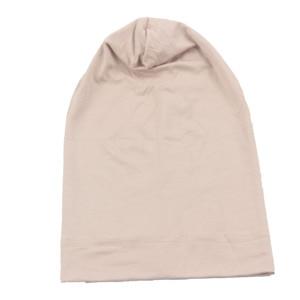 Image 2 - Muslim Women Girls Scarf Cap Cotton Breathable Hat Womens Turban Elastic Cloth Head Cap Hat Ladies Hair Accessories Wholesale