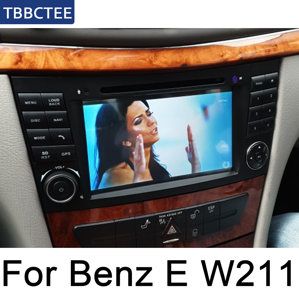 For Mercedes Benz E Class W211 2002~2009 NTG Car Multimedia Player Android Car Radio Stereo GPS Navigation Bluetooth wifi Audio image